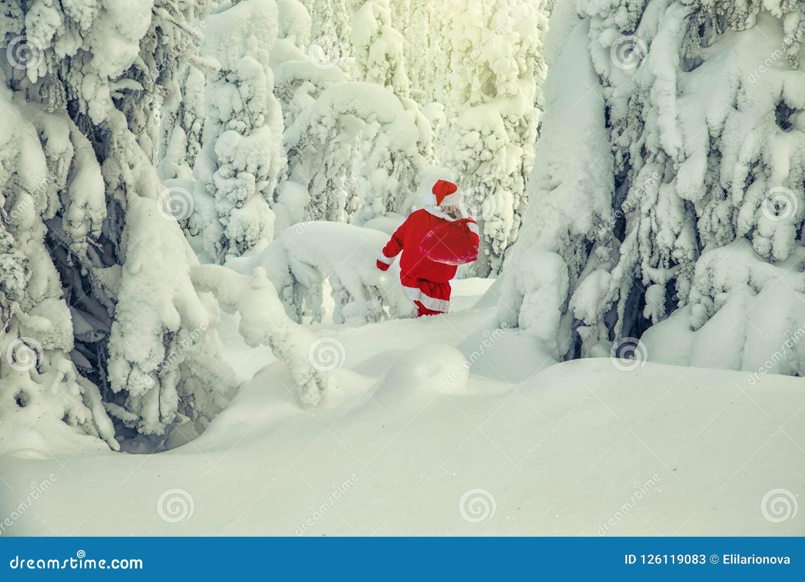 Autentyczny Święty Mikołaj w Lapland