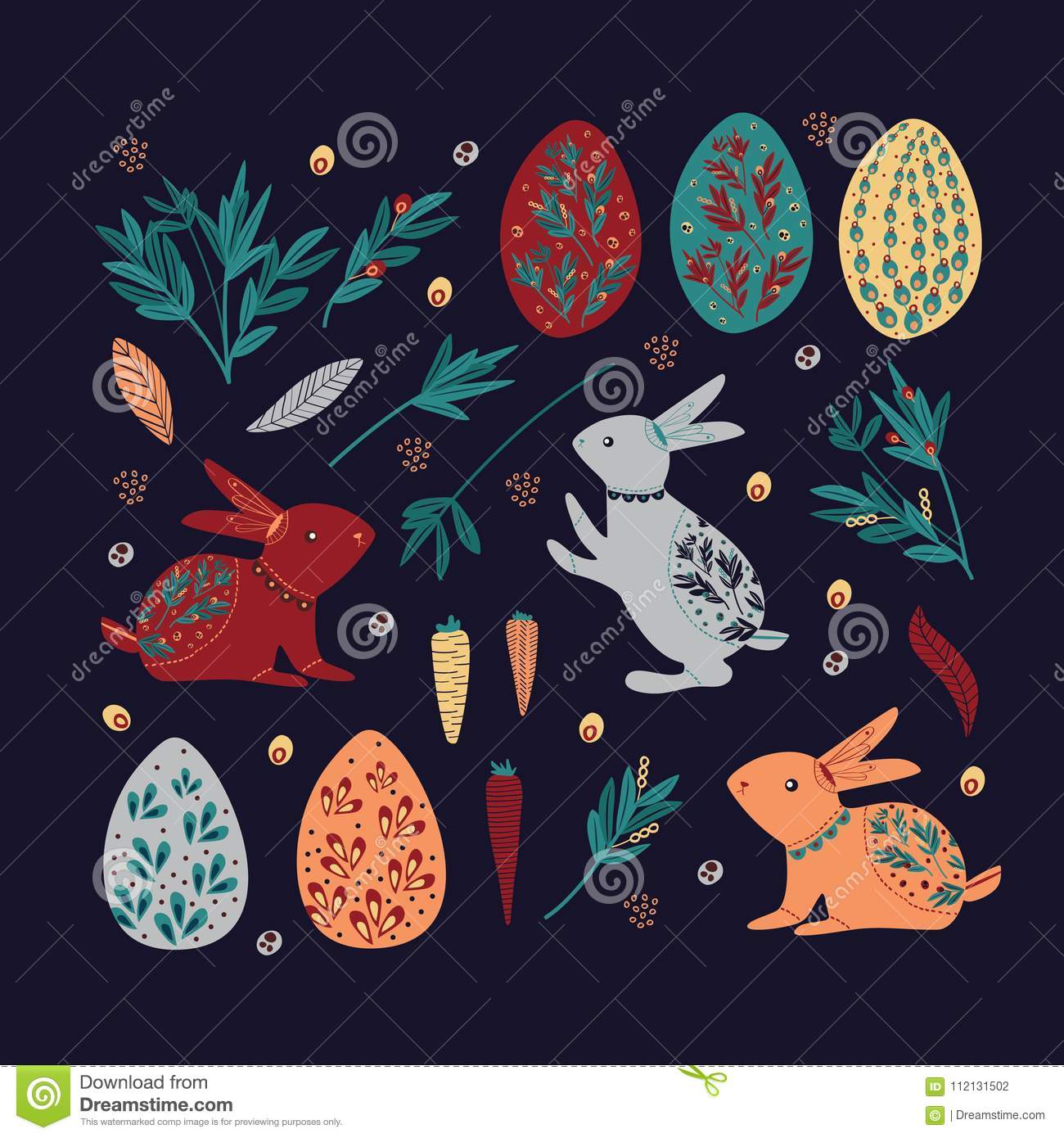 graphic vintage Easter