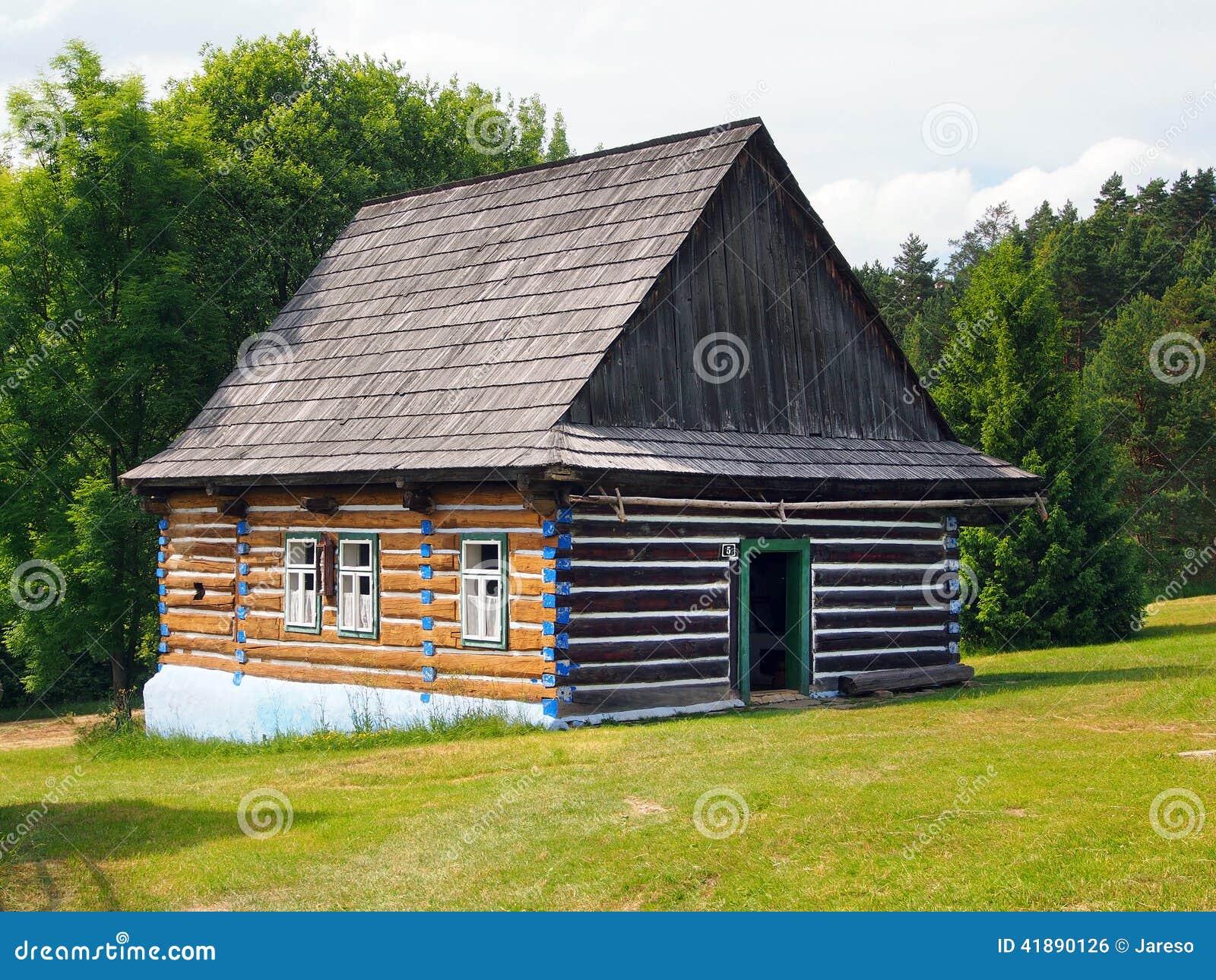 An authentic folk house in Stara Lubovna