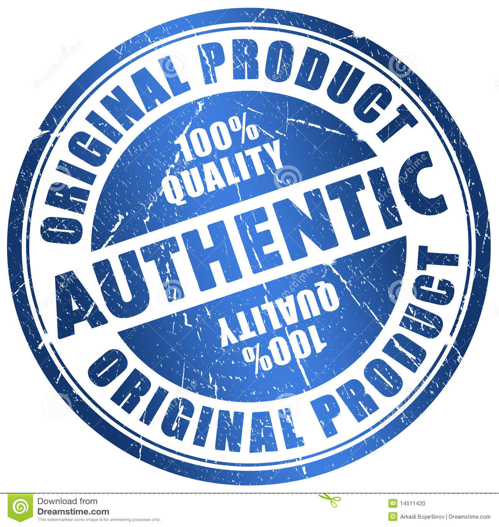 Authentic Stamp Stock Photo - Image: 14511420