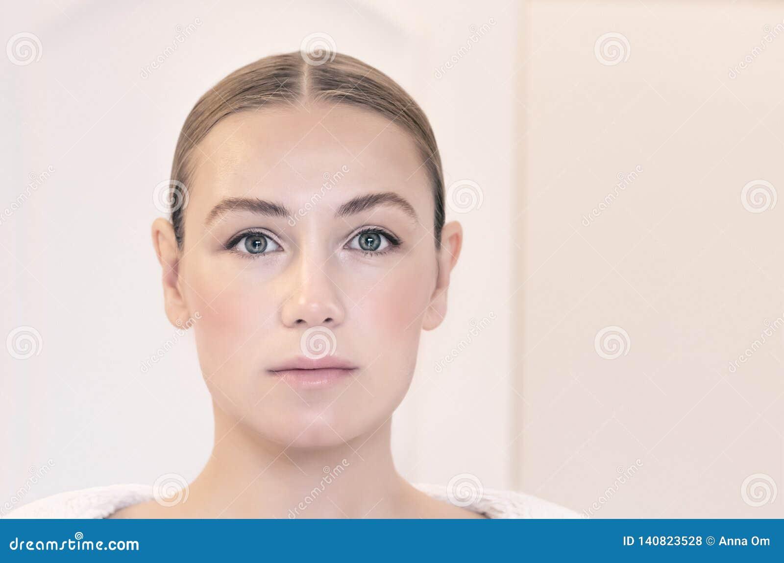 Authentic woman portrait