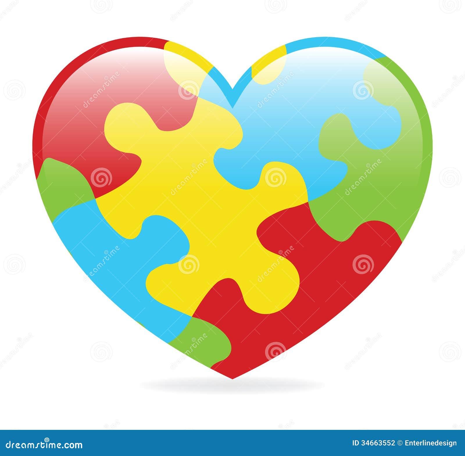 Autism Puzzle Piece Clip Art  Clipartsco