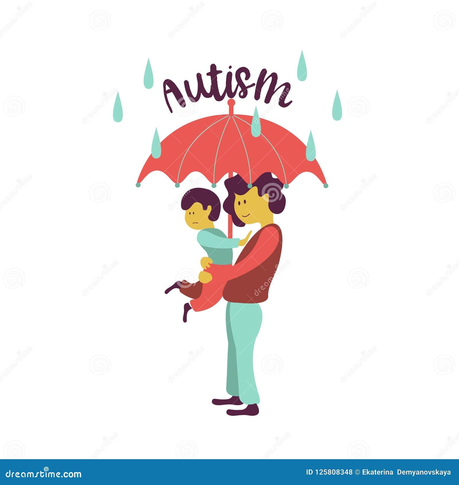 Autism L emblème du syndrome de l autisme chez les enfants Childr