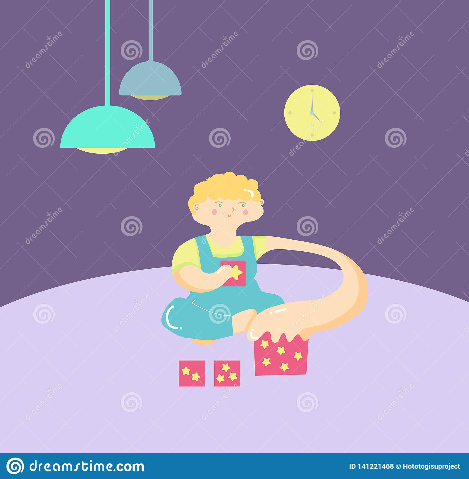 Autism Signes tôt de syndrome d autisme chez les enfants blanc de vecteur d isolement par ENV de 8 emblèmes Icône du désordre ASD