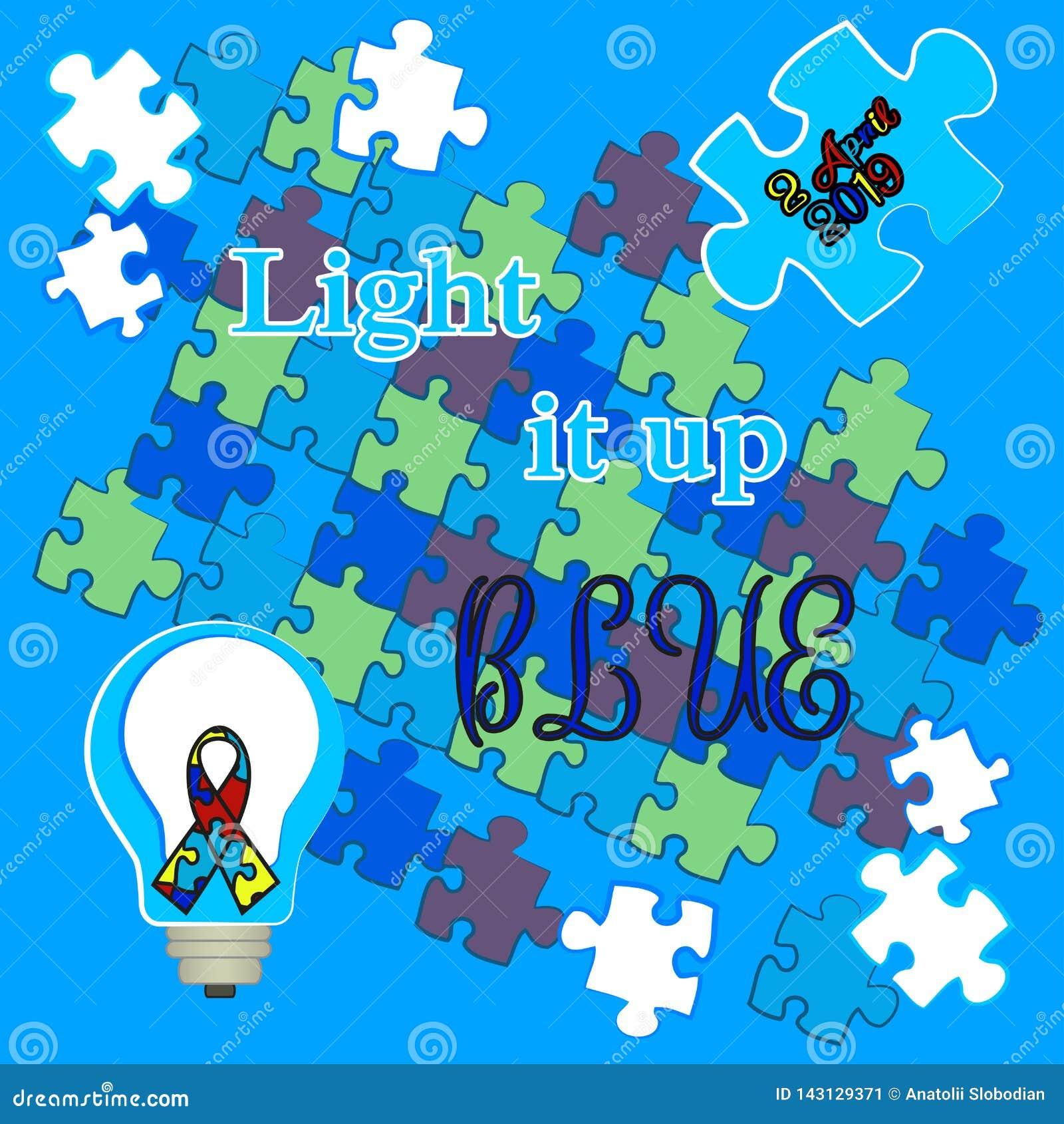 Autismdag Service f?r barn med autism skjorta t