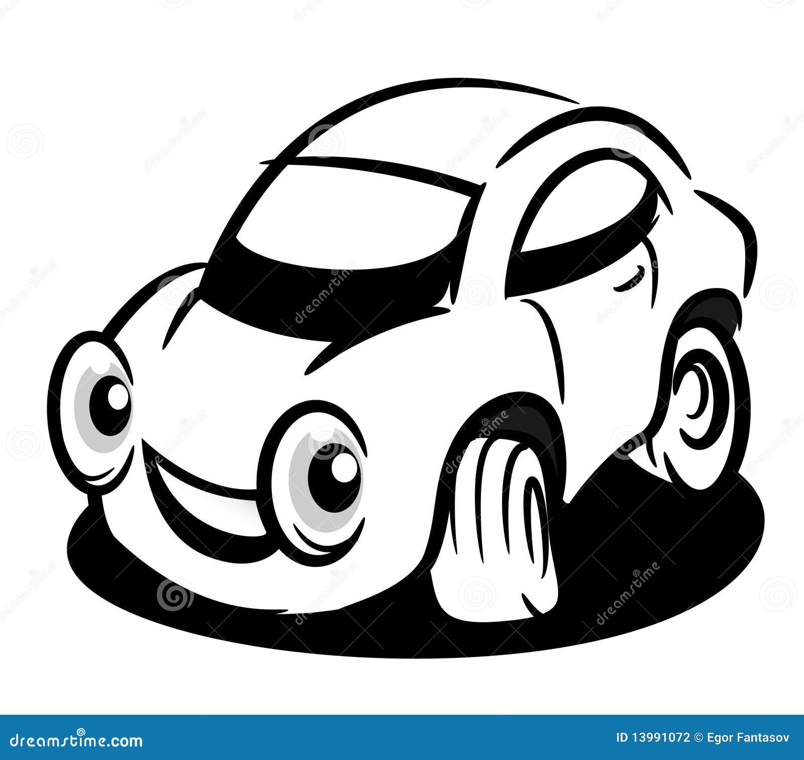 Auto vector illustratie. Illustratie bestaande uit verkeer ...