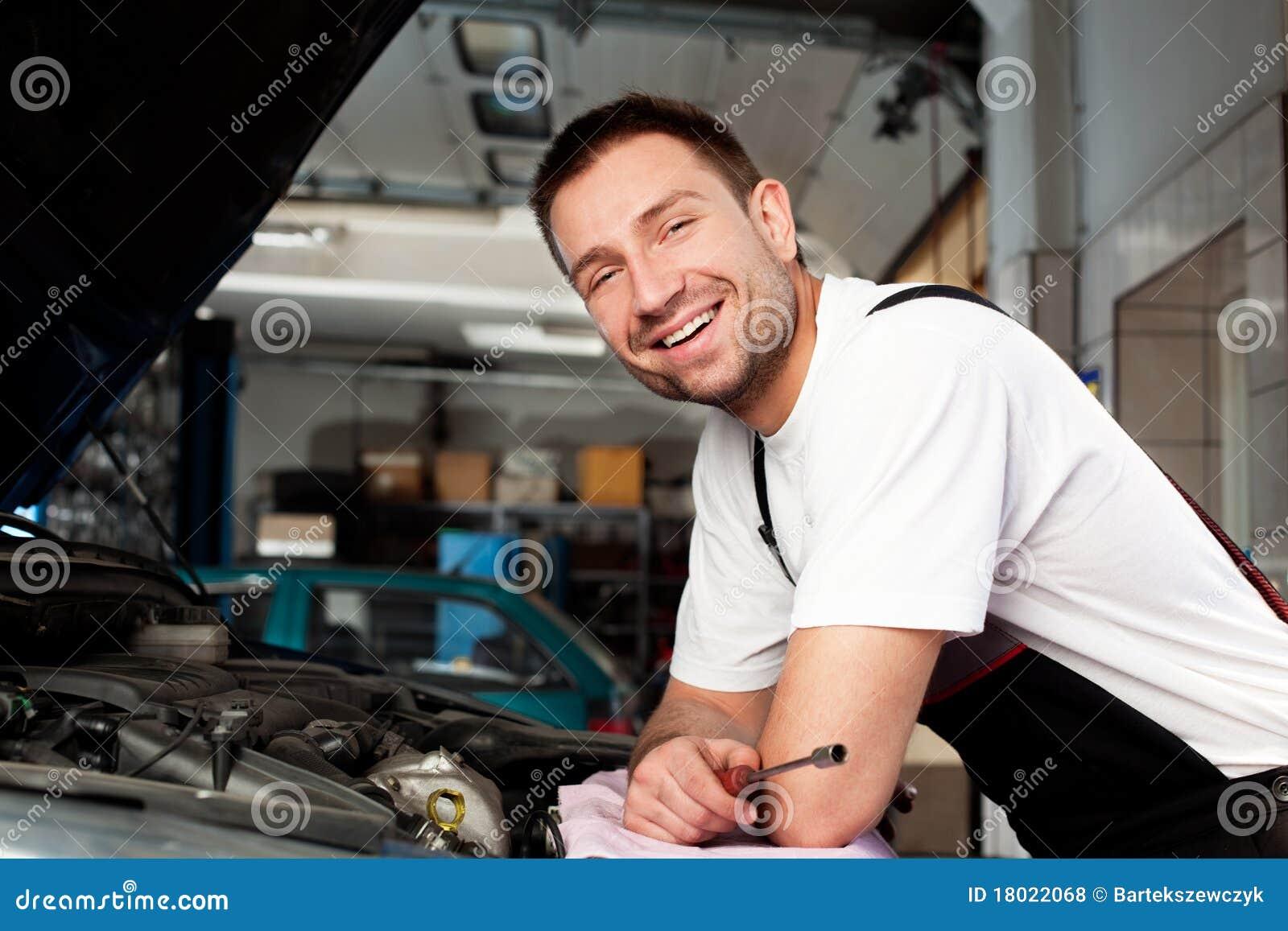 Auto baserad bilmekaniker