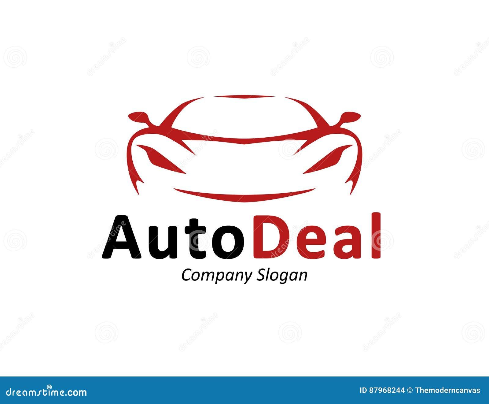 Auto Car Dealership Logo Design With Concept Sports