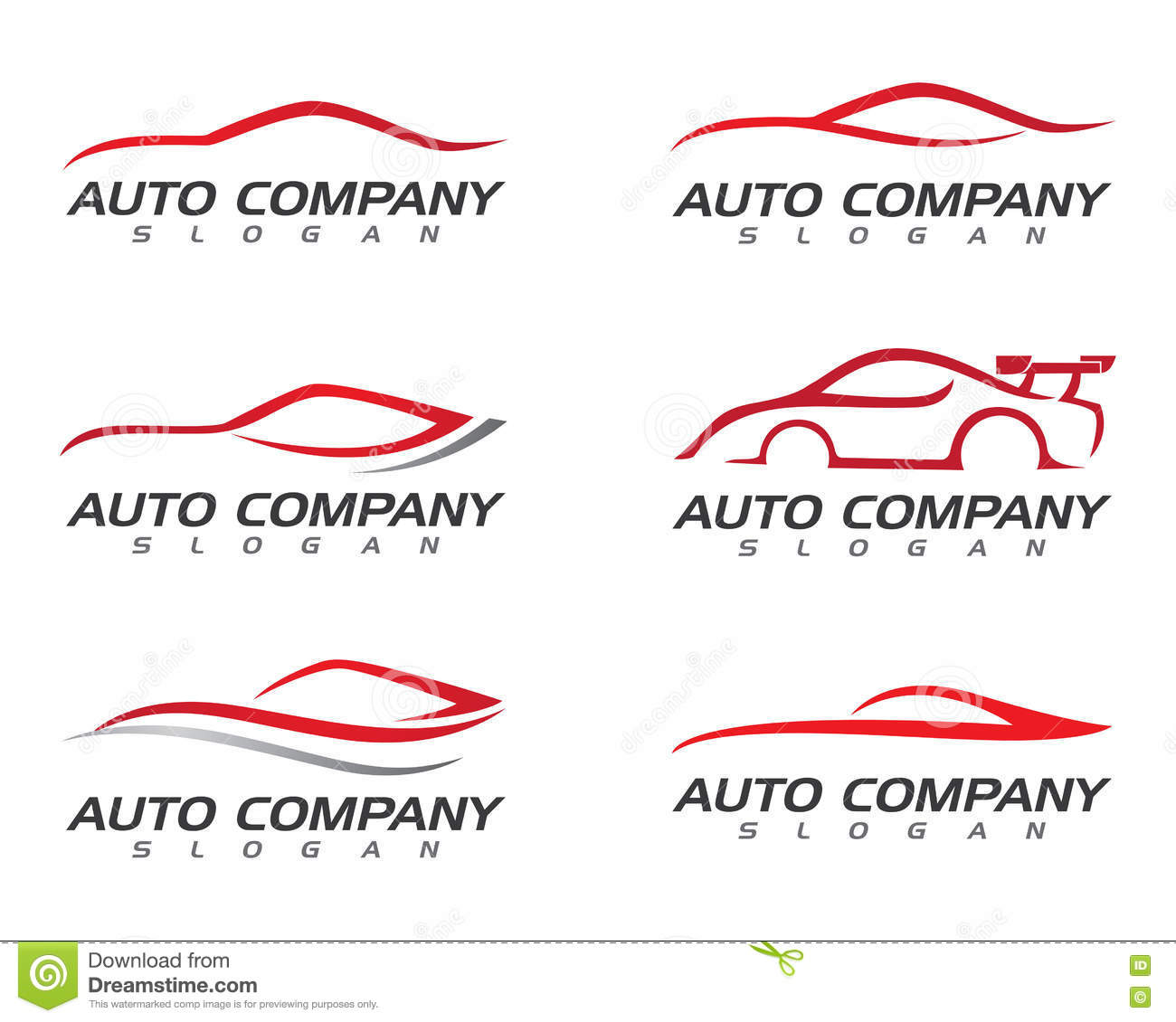 Auto Car Logo Template Stock Vector Illustration Of Insignia 74325132