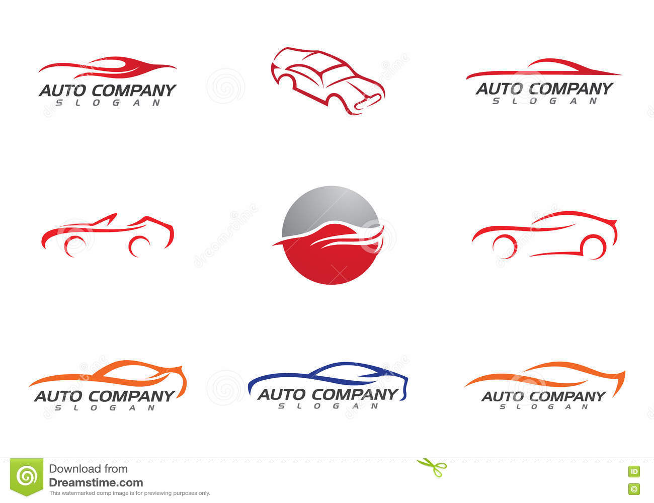 Auto Car Logo Template Stock Vector Illustration Of Creative 79790814