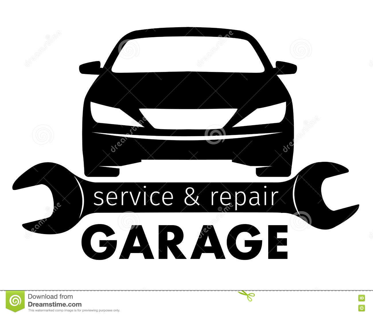 Mechanic logo vector images galleries for Garage reparation auto