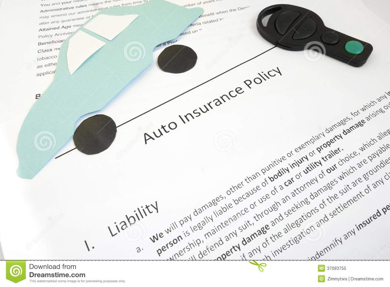 how to get replacement insurance papers