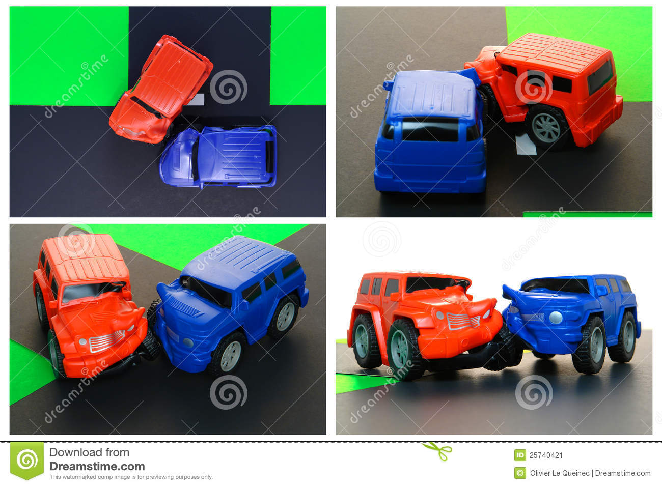 Auto Driver Safety Education Anatomy Of Car Crash Stock Image ...