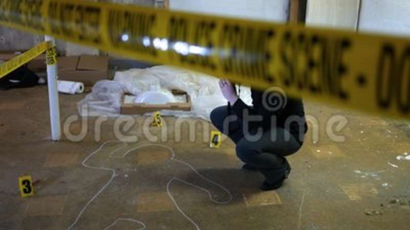 Auto Focus On A Forensic Crime Photographer At Murder Scene - Indie ...