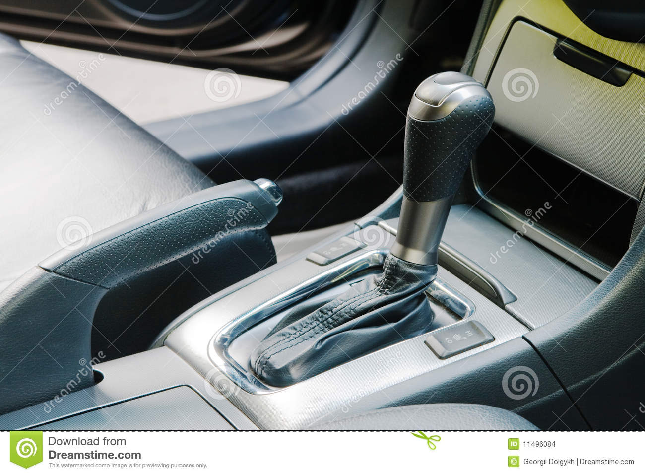 Auto gear shift handle