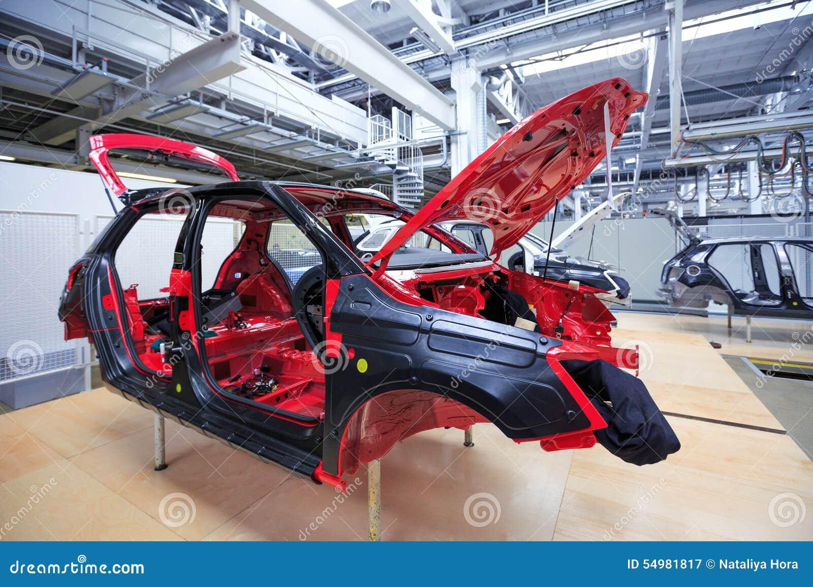 Auto huvuddelbilväxt