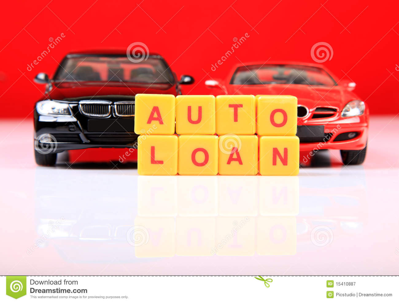 Auto Loan Royalty Free Stock Photography - Image: 15410887