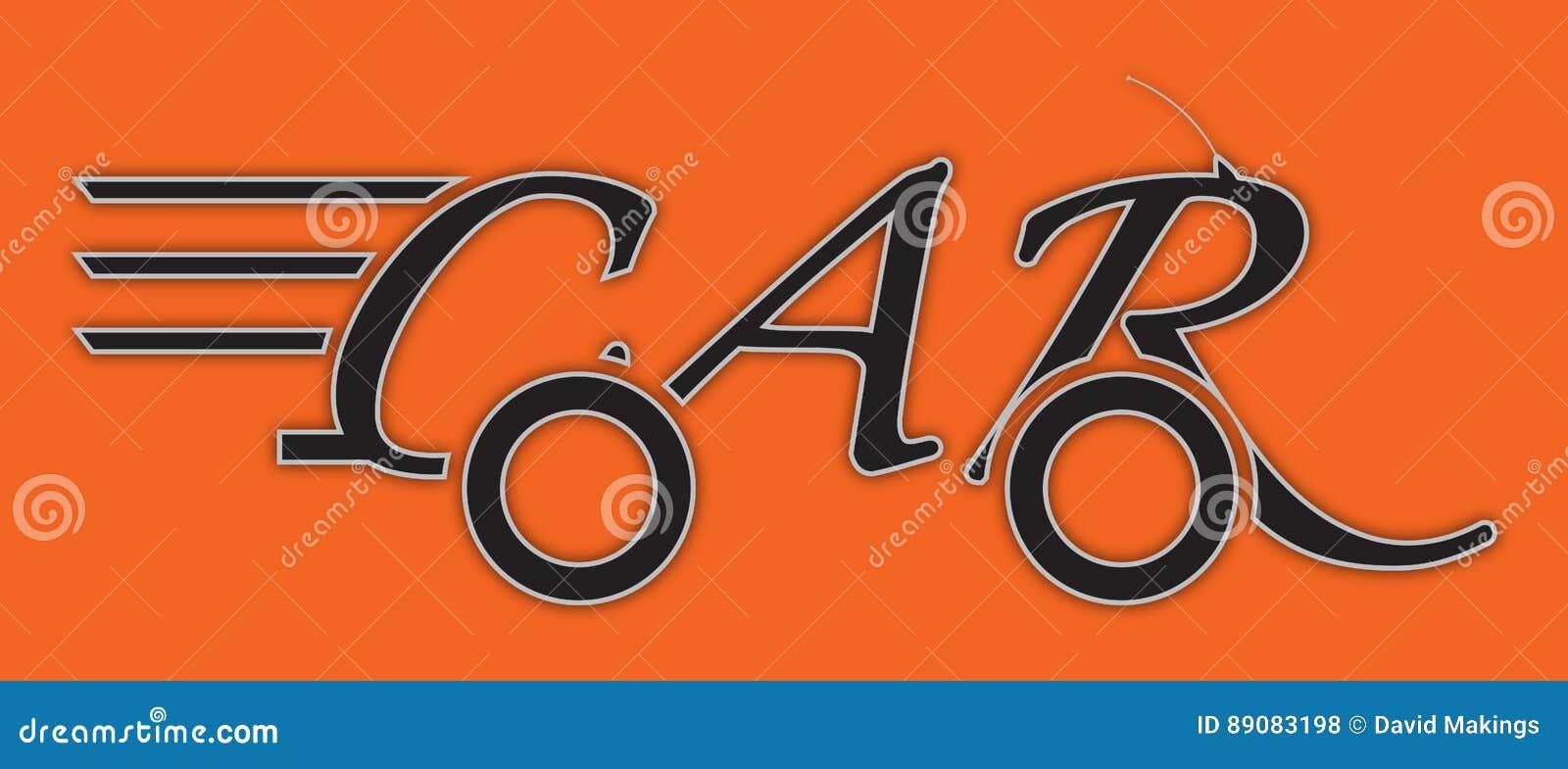 947b50c2b Auto logo black white orange stock illustratie jpg 1300x654 Black white  orange