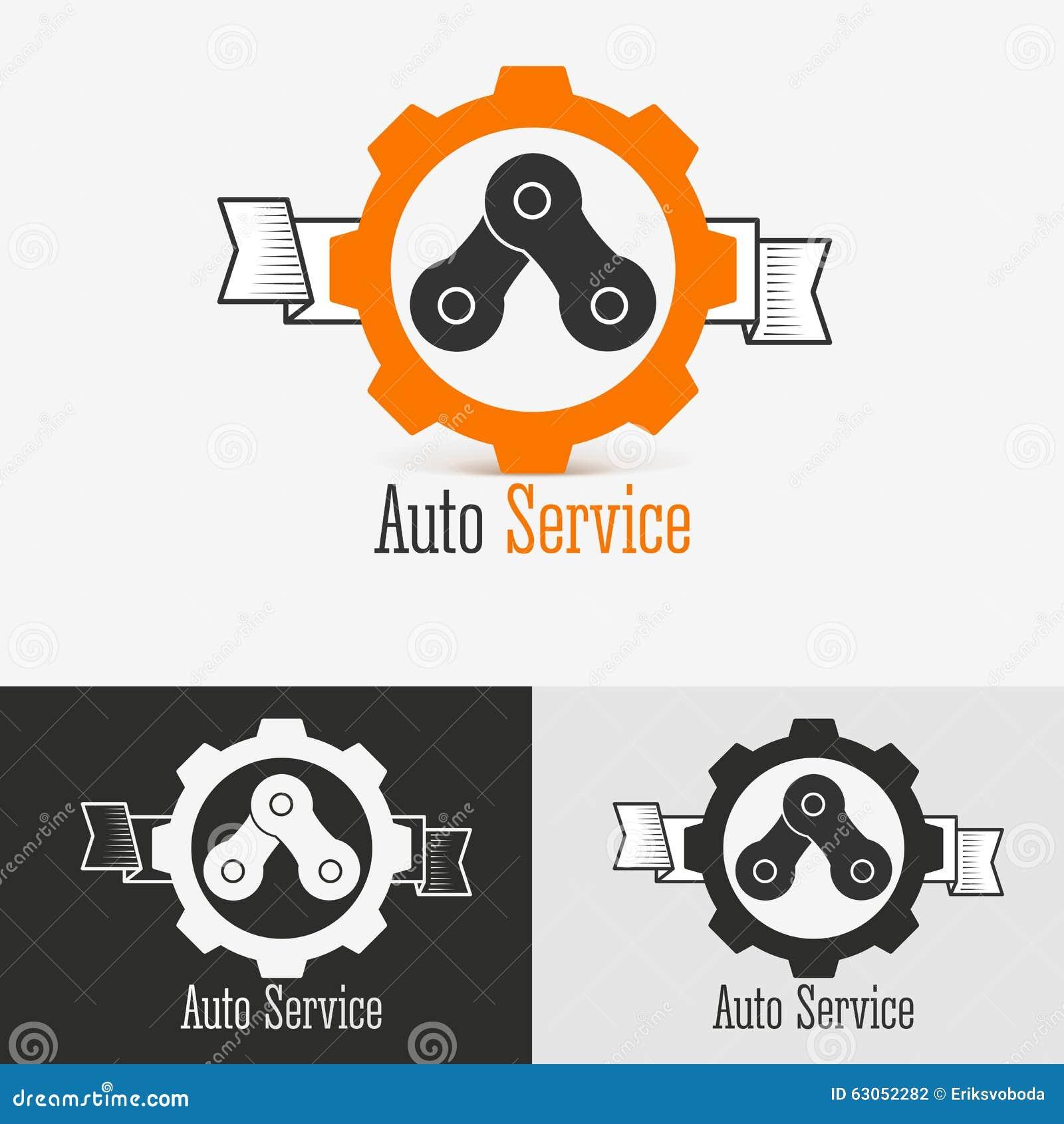 Auto Logo Design Template Stock Vector Illustration Of Icon 63052282