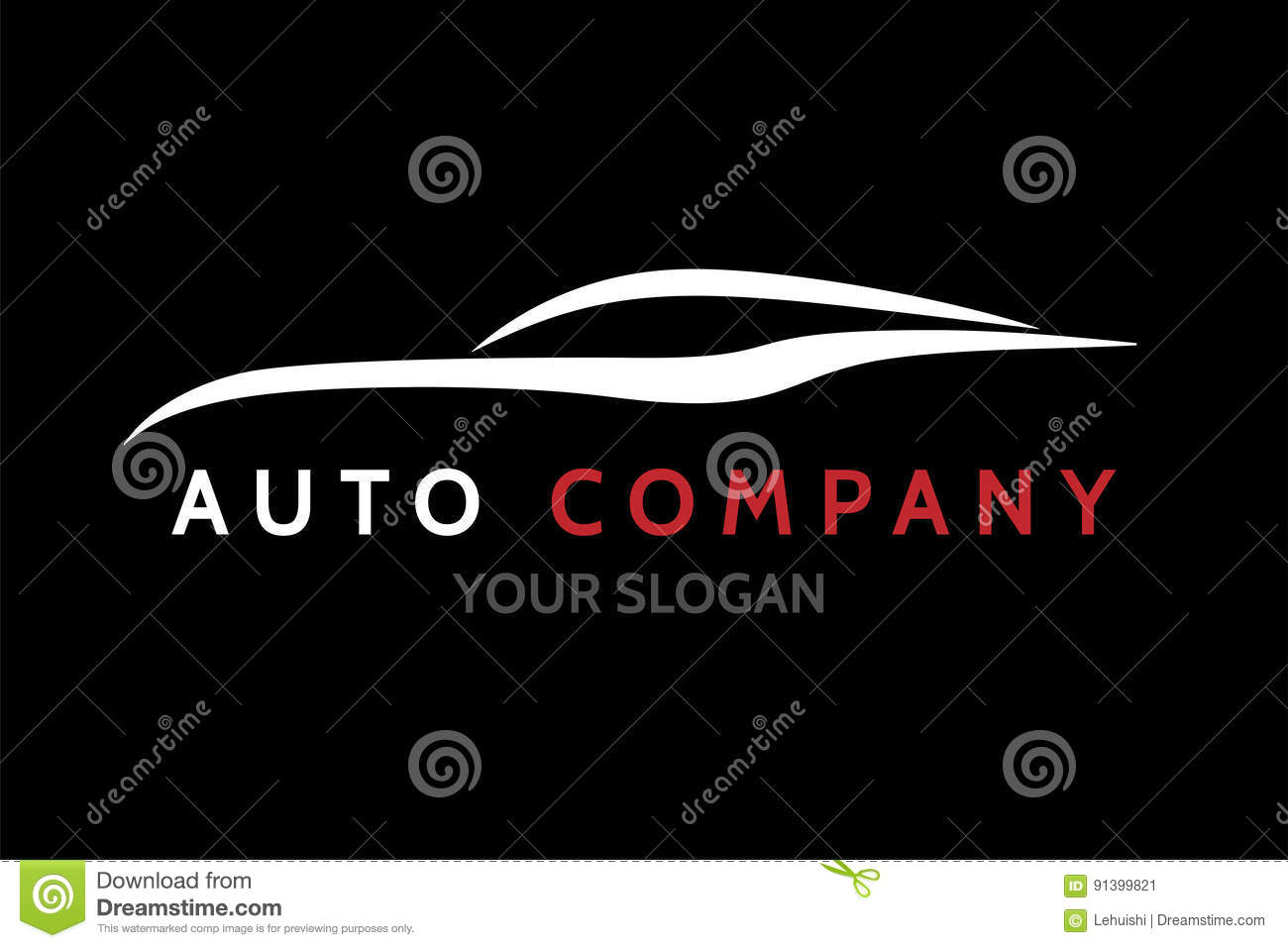 Auto Logo Vector Illustration Vector Illustratie Illustratie