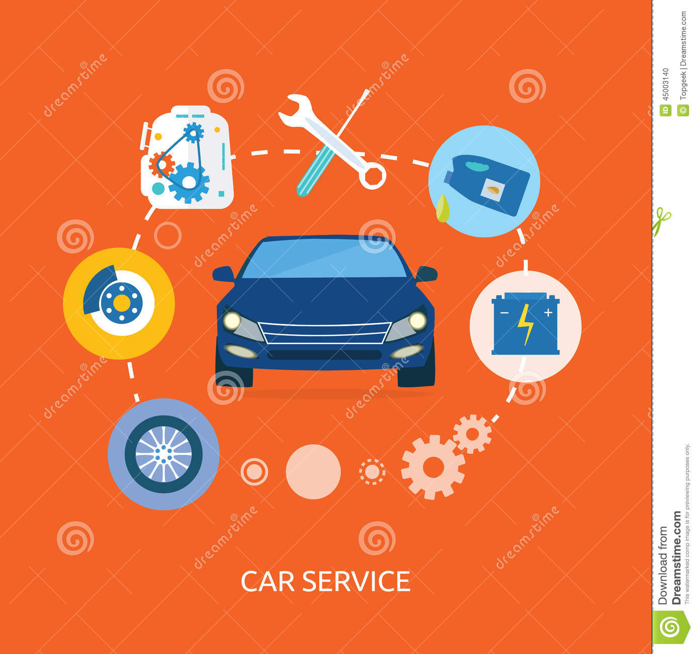Car Repair Icons Free