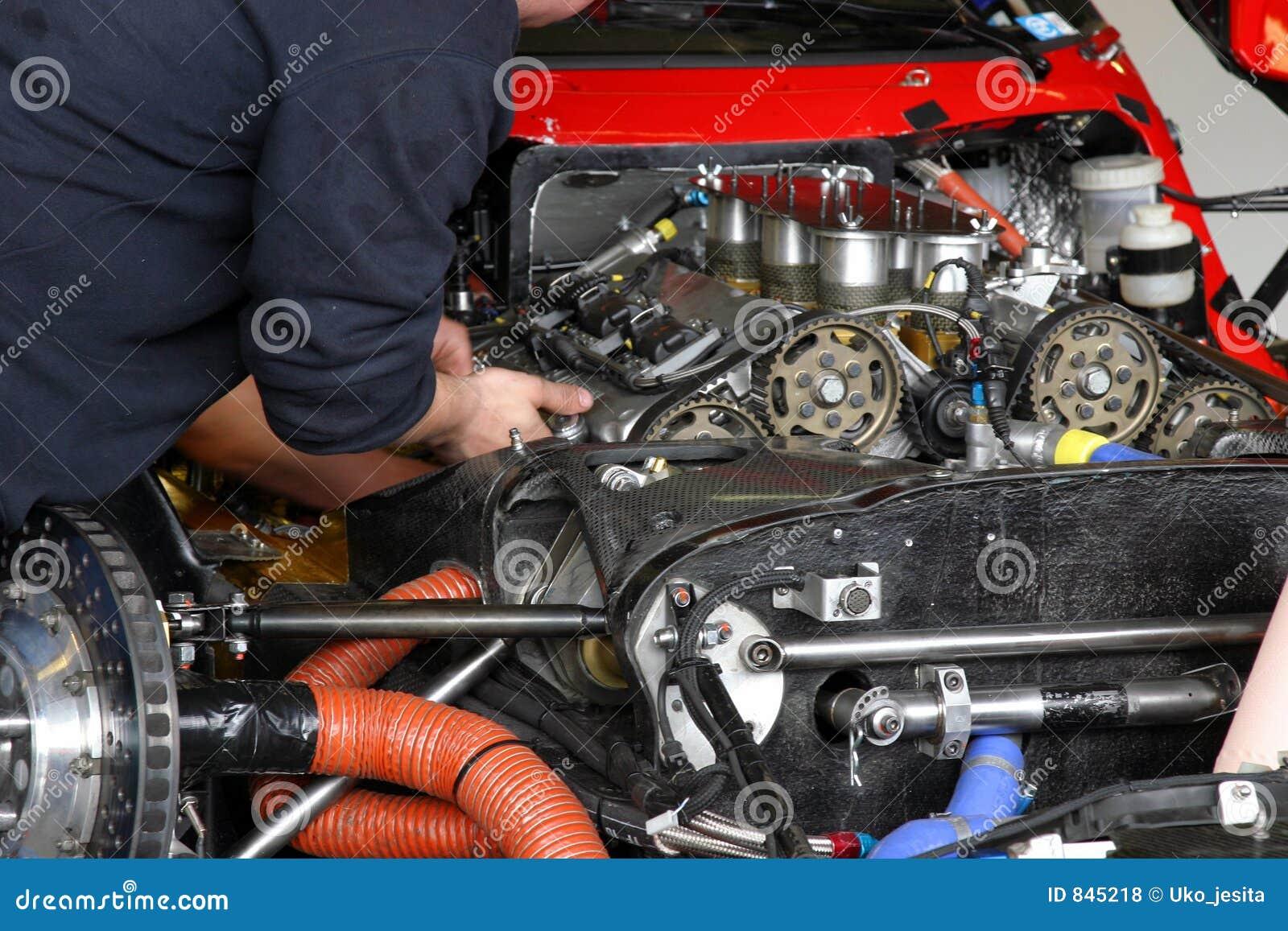 Auto-Mechaniker stockfoto. Bild von nockenwellen, paare - 845218