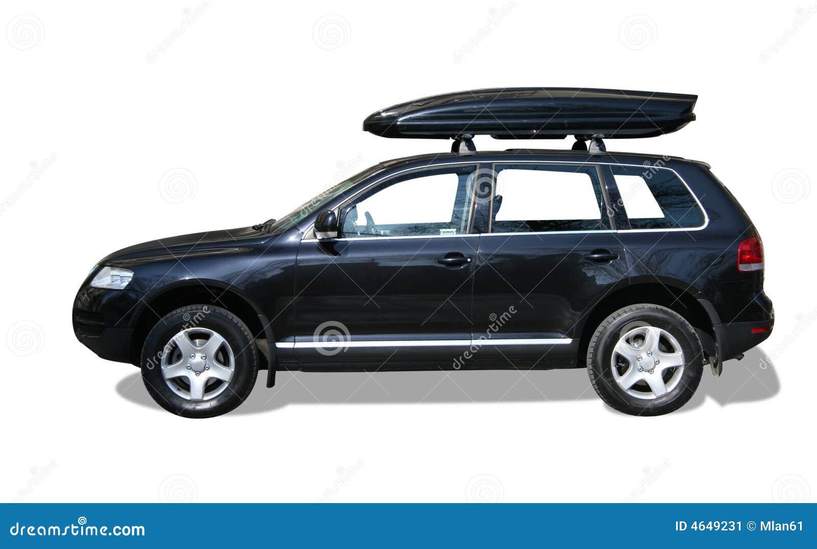 Auto mit Dachkasten