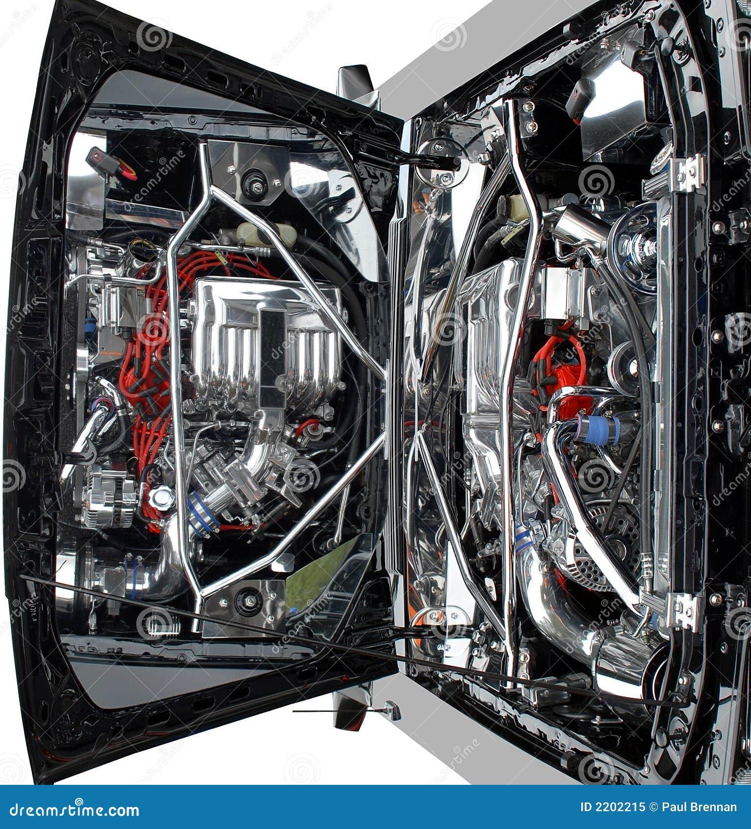 Auto-Motor stockbild. Bild von funken, teile, kraftstoff - 2202215