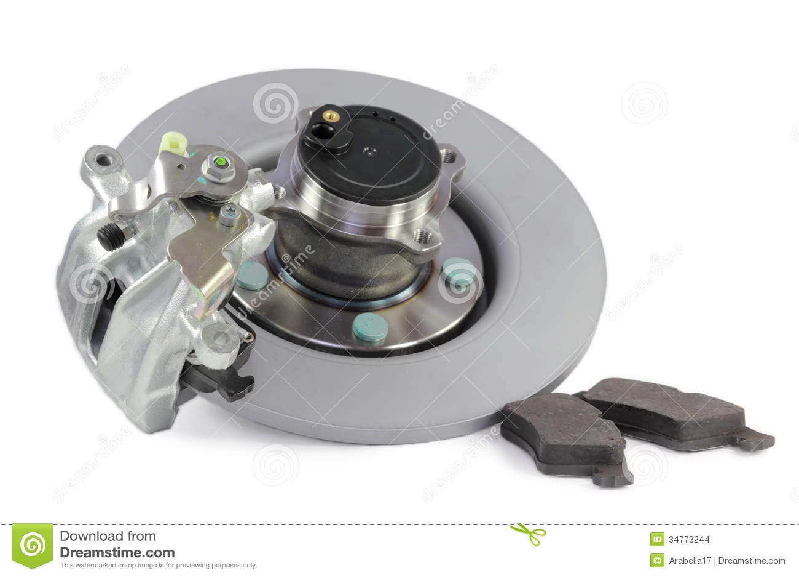 Auto parts  brakes stock photo  Image of safety