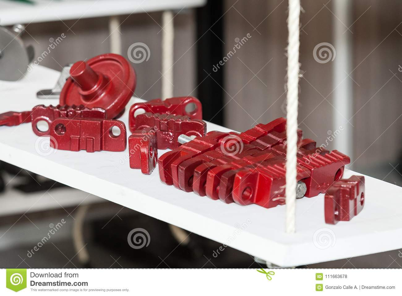 Auto Parts Of Vehicles, Parts For Vehicle Engines Stock Photo ...