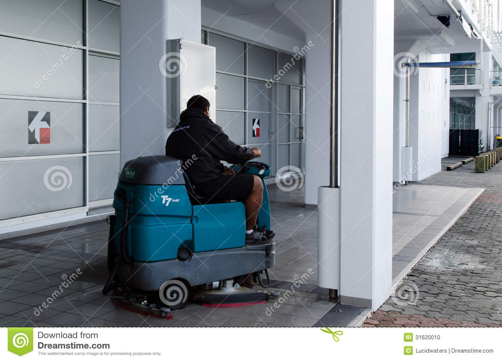 Auto Podłogowa Cleaning maszyna