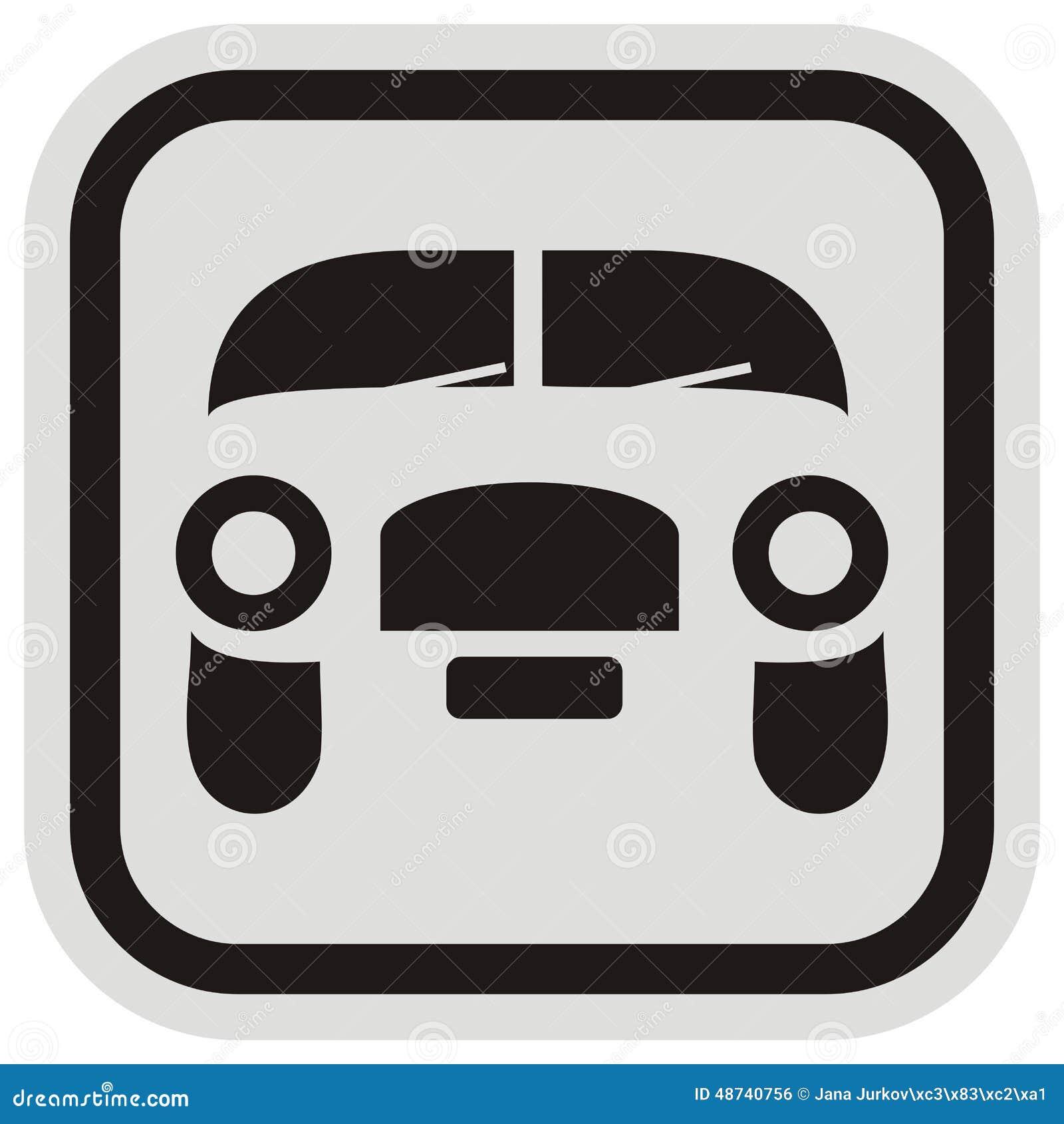 Auto, Rahmen vektor abbildung. Illustration von nachricht - 48740756