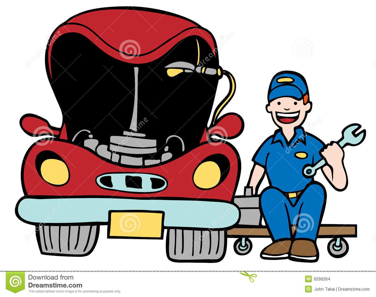 Auto Repair Stock Images - Image: 9299264
