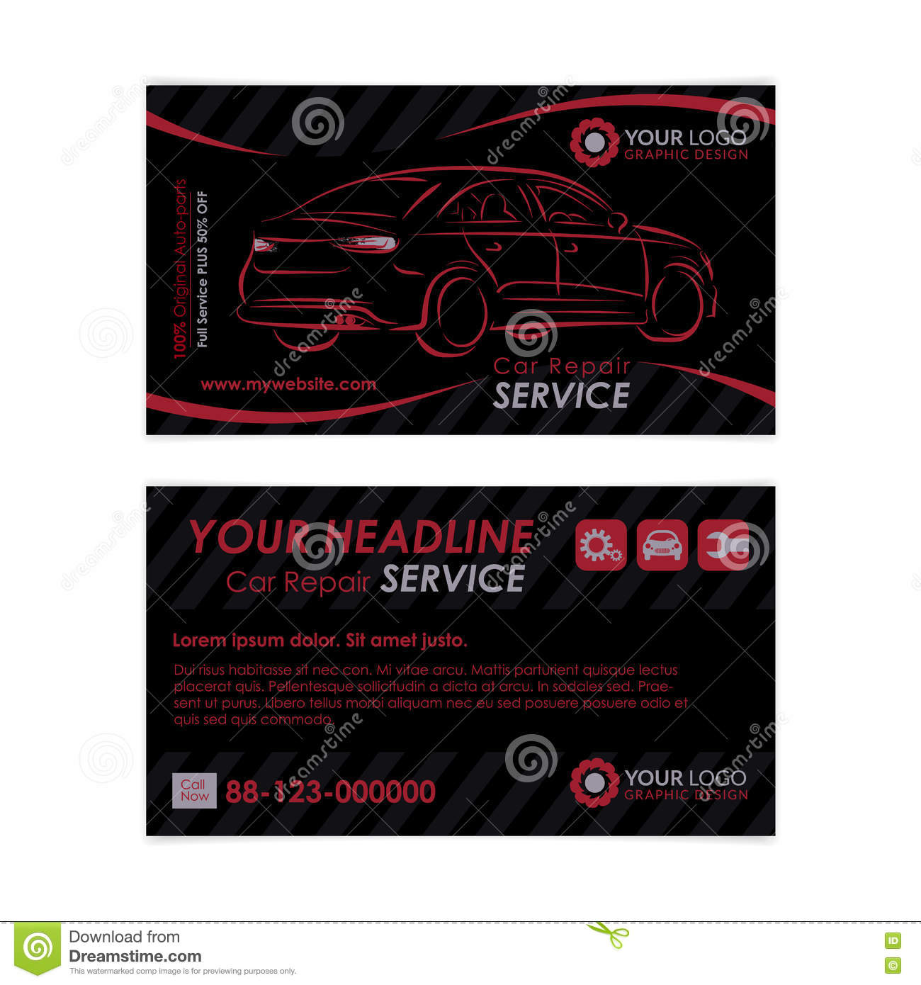 Auto repair business card template create your own business cards auto repair business card template create your own business cards fbccfo Image collections