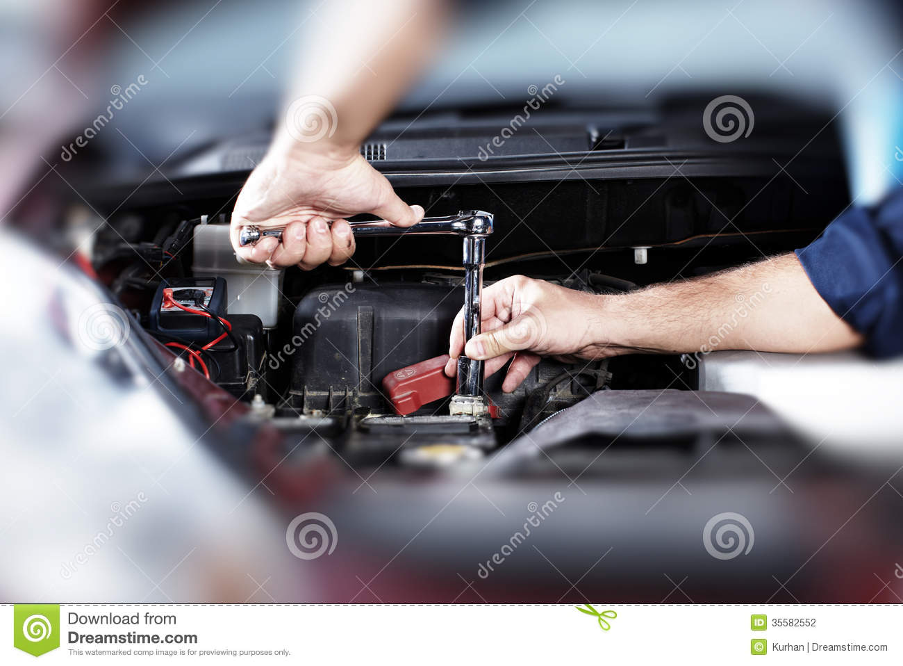 Auto repair stock photography image 35582552 Auto motor repair