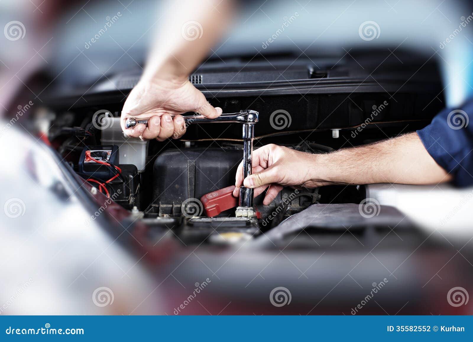 Auto Repair Stock Photography Image 35582552