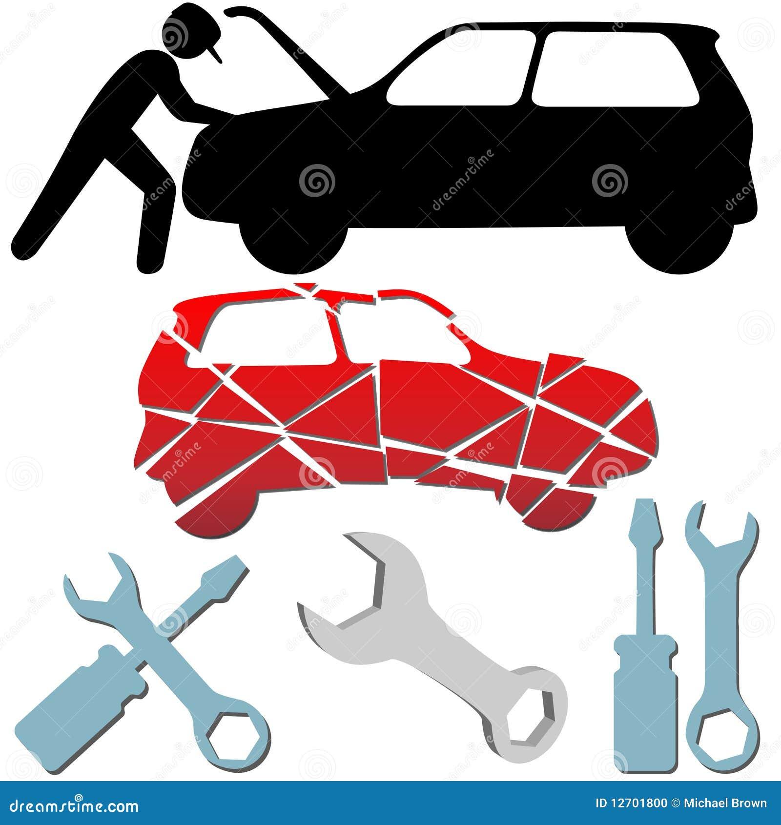 Auto Body Clip Art Auto repair maintenance car