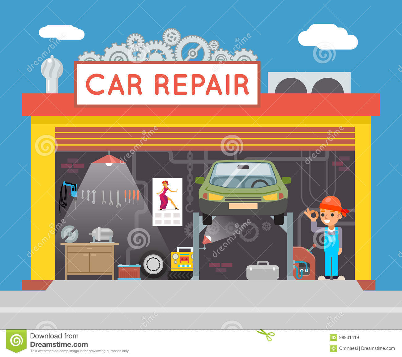 Fix Bad Credit >> Fix Cartoons, Illustrations & Vector Stock Images - 32014 Pictures to download from ...