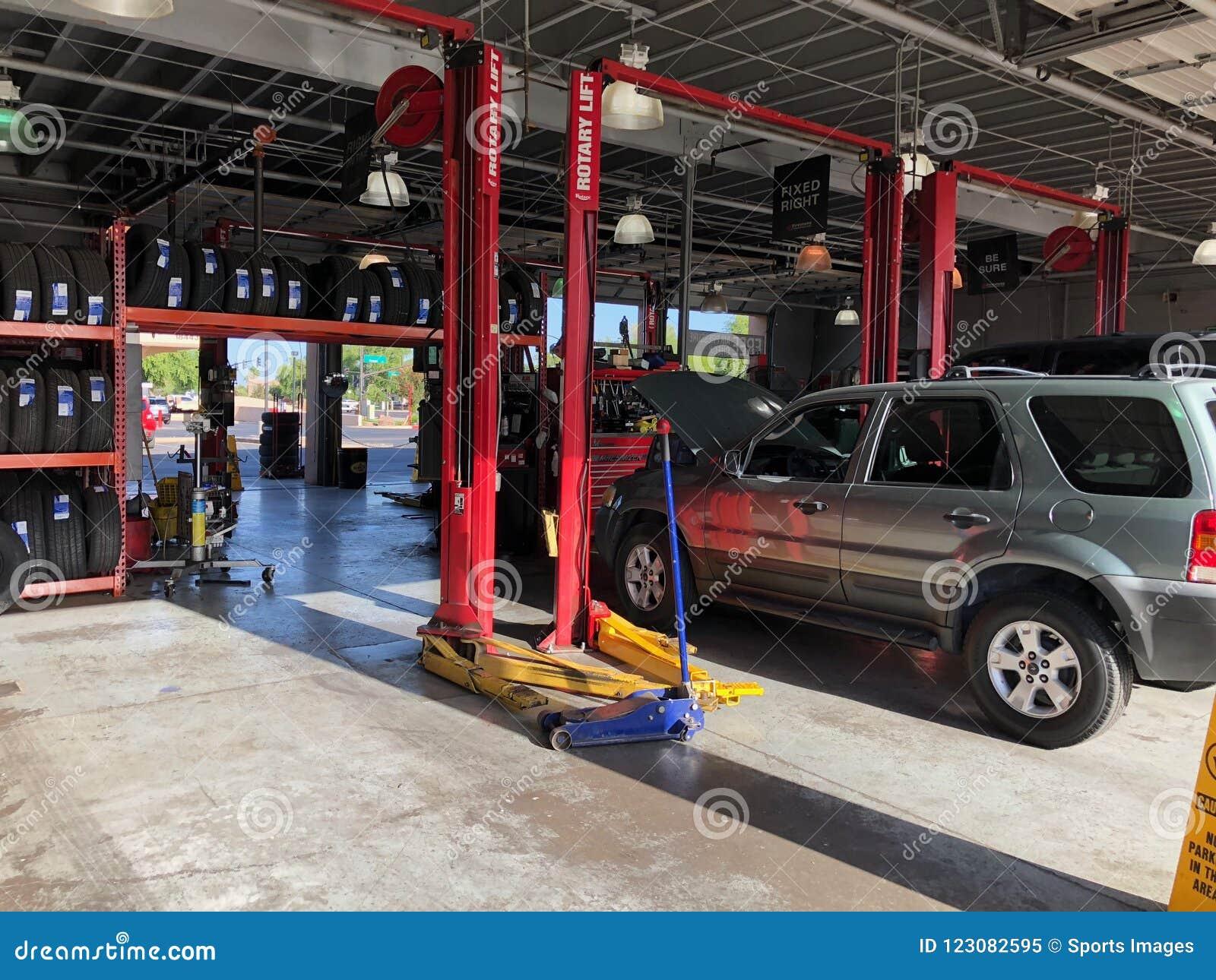 Auto Repair Shop editorial image  Image of repaired - 123082595