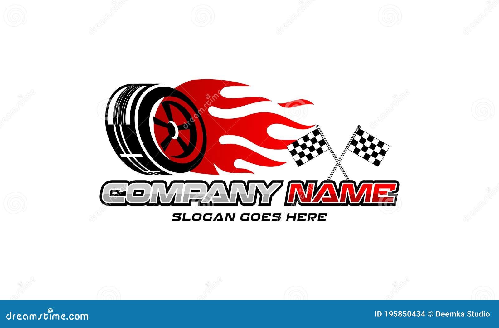 Auto Repair Services Automotive Logo Ideas Sample Vehicle Logos Stock Illustration Illustration Of Automobile Emblem 195850434