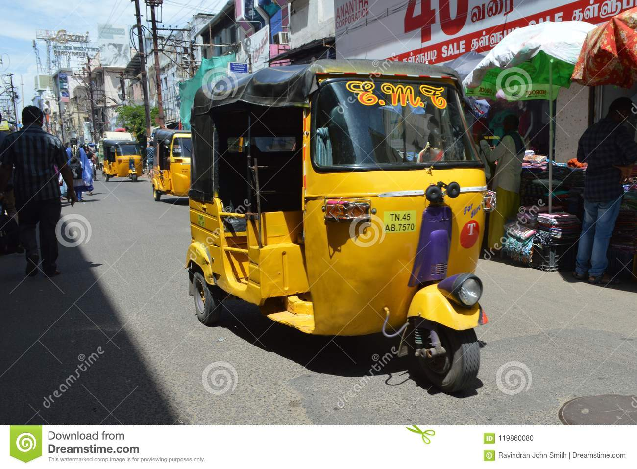 Auto or Rickshaw editorial image  Image of occurrence