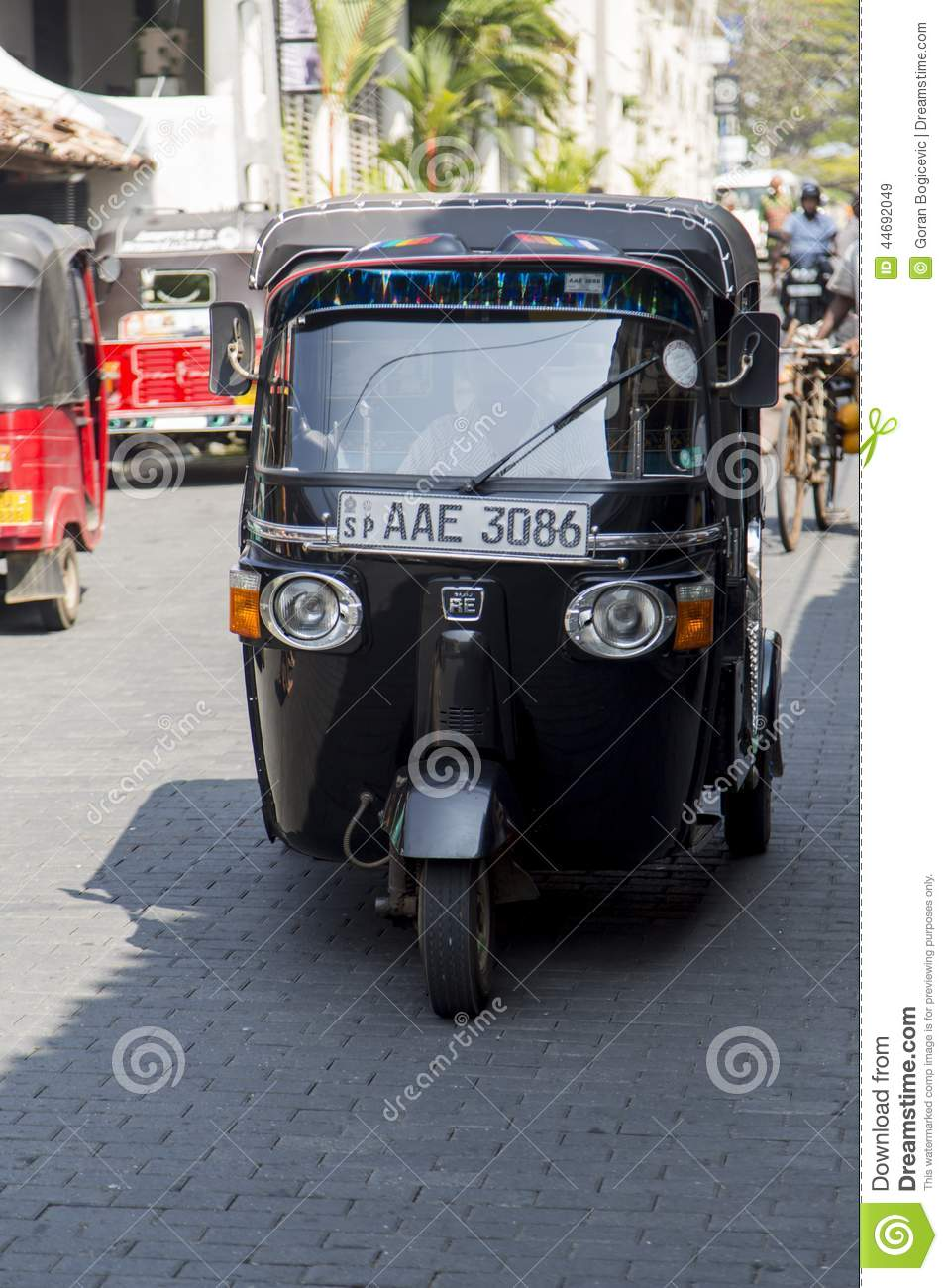 auto rickshaw editorial stock image image of motor model 44692049. Black Bedroom Furniture Sets. Home Design Ideas