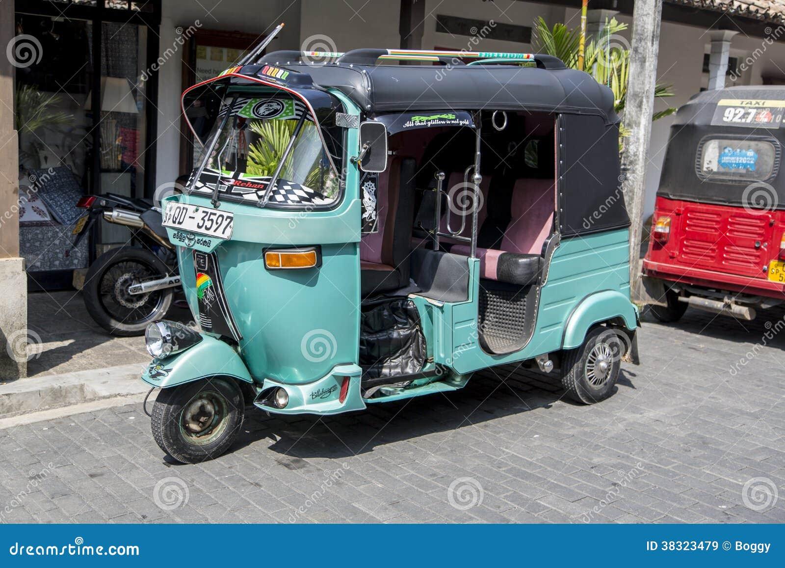 Auto rickshaw editorial stock image. Image of street - 38323479