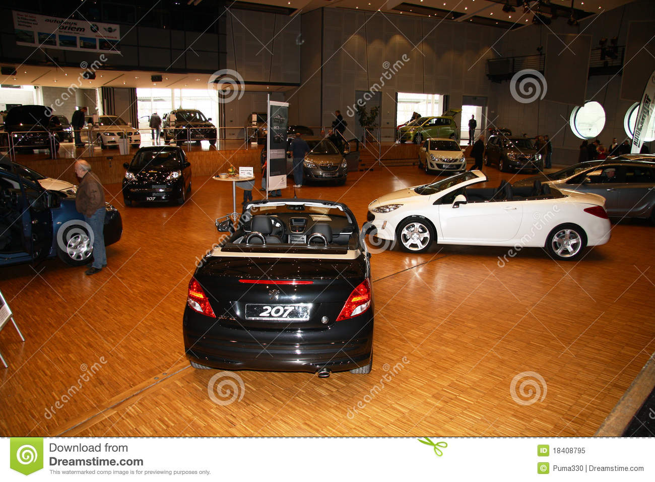 auto salon germany editorial image image 18408795