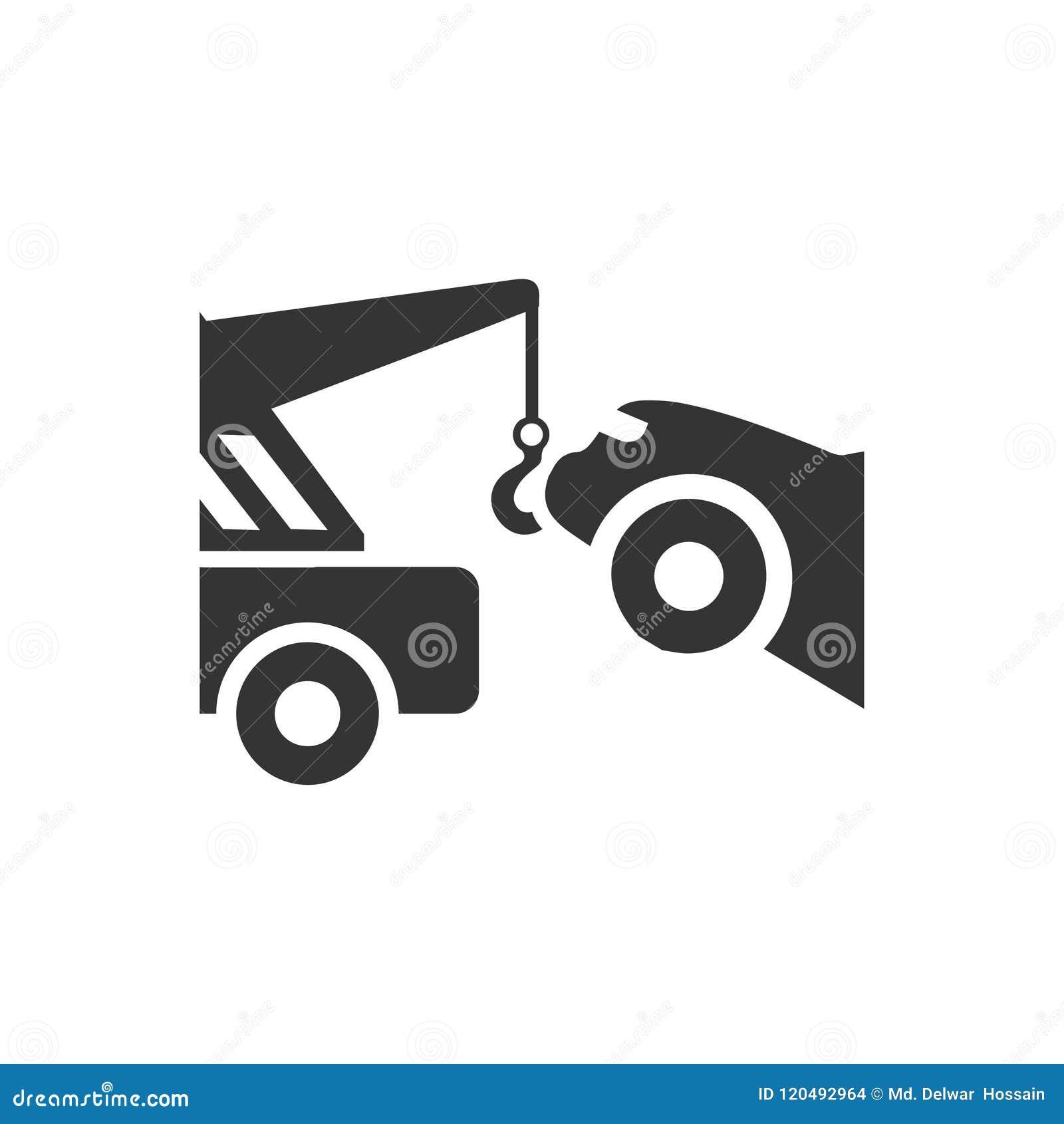 Auto-Schleppen-Ikone