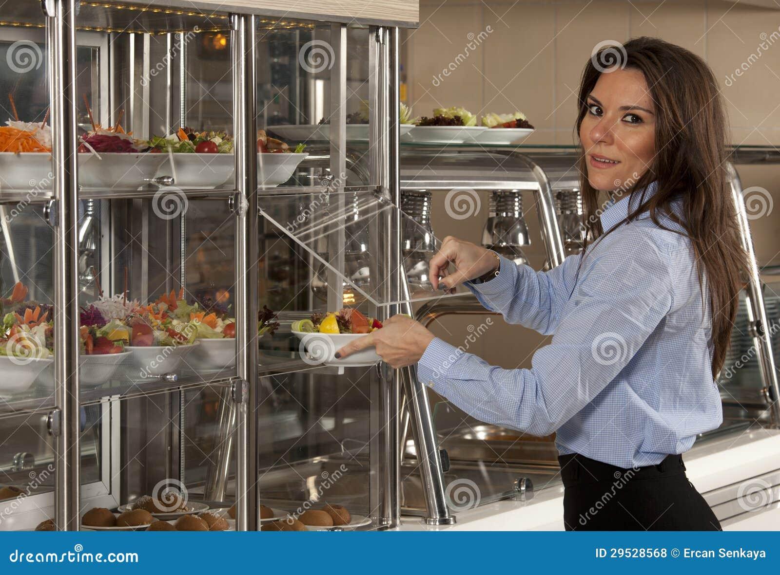 Auto-serviço do bufete