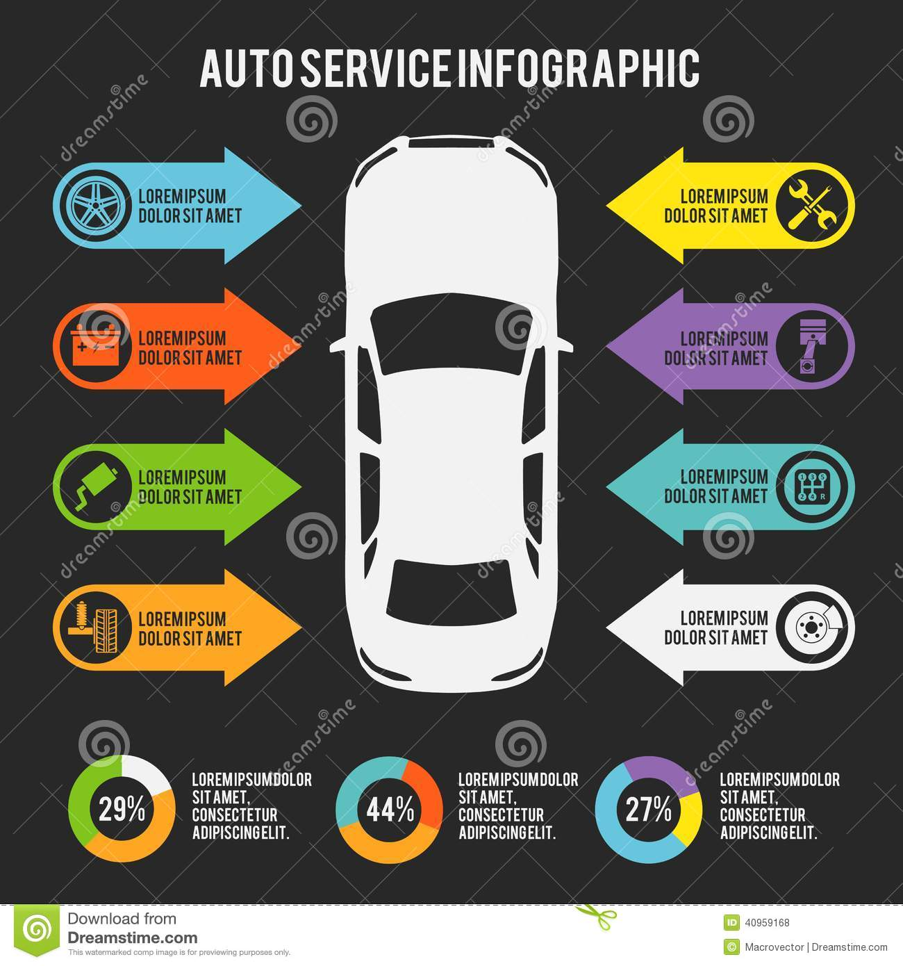 Car Repair Poster Template