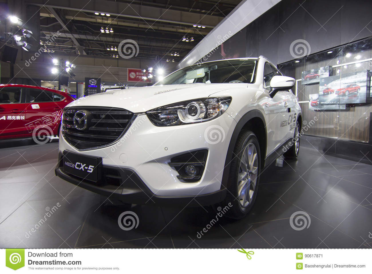 auto show — mazda cx—5 editorial photo. image of energy - 90617871