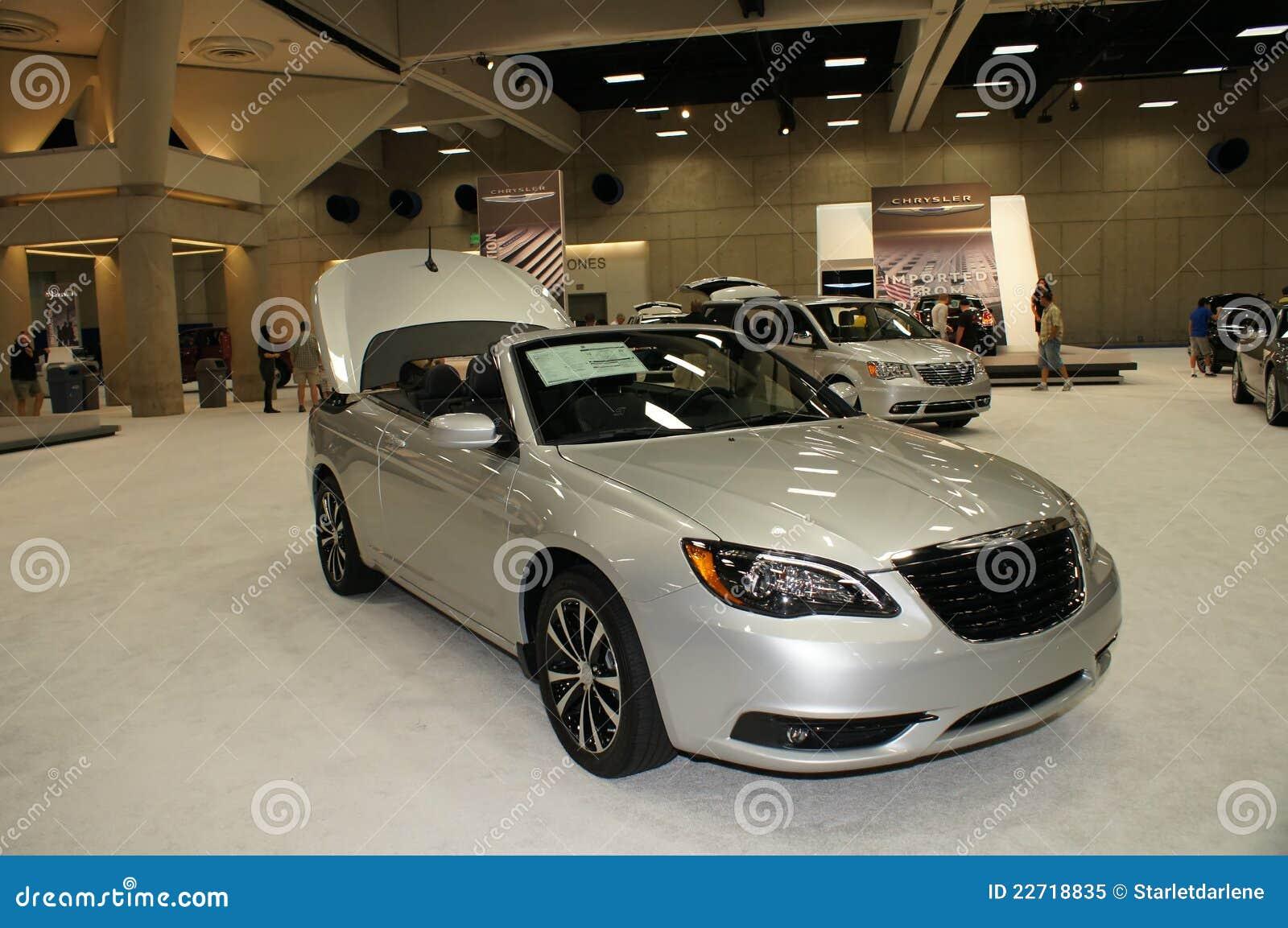 Auto Show Chrysler Editorial Image Image Of California - San diego international car show discount tickets