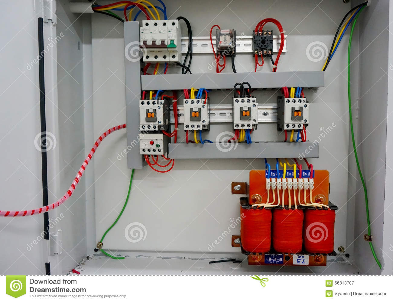 Auto Transformer Starter Stock Image  Image Of Minature